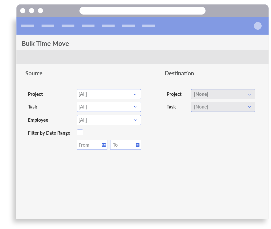 manage projects and tasks and track time against each of them dovico